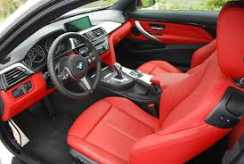 2016 bmw 435i xdrive coupe the c red dakota leather interior