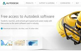 last week autodesk announced that it is going to offer some of its popular for free to students educators and academic institutions