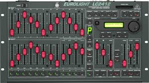 24 channel dmx lighting console