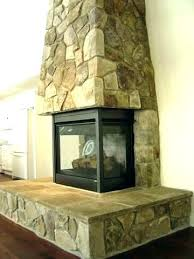 3 sided gas fireplaces s fireplace dimensions images for