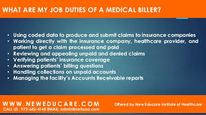medical billing coding job description medical billing and coding program ppt editable