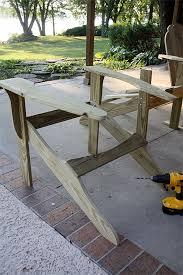 building adirondack chair
