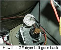 solved ge dryer dbxr453ea1ww ser tz759317a dryer fixya you will have to install the drum and belt the belt goes like this