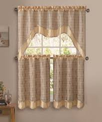 Gold Kitchen Curtains