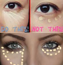 the correct way to put on concealer without looking like you were wearing tanning image makeup