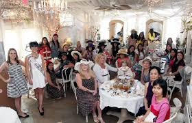the garden gate tea room bridal shower tea party