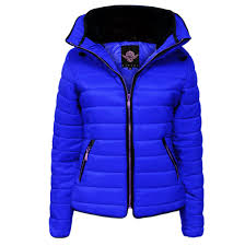 New Womens Quilted Puffer Bubble Padded Jacket Fur Collar Gold Zip ... & New-Womens-Quilted-Puffer-Bubble-Padded-Jacket-Fur- Adamdwight.com