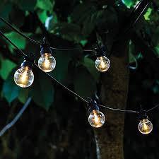 sirius lucas warm white led festoon lights extension 10 lights