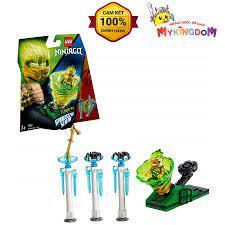 MY KINGDOM - Đồ Chơi Xếp Hình LEGO Ninjago Lốc Xoáy Thần Tốc- Lloyd 70681