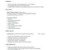 Sample Of Paralegal Resume Paralegal Resume Sample Paralegal Job