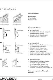 Bedienungs Pflege Und Wartungsanleitung Für Fenster Türen Und