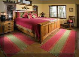 what size area rug under queen bed marters club
