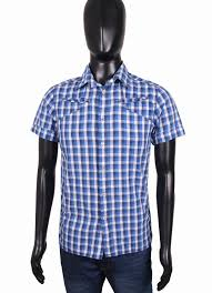 Details About G Star Raw Mens Shirt Short Sleeve Slim Fit Blue M