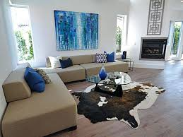 living room ideas with cowhide rug. stupendous faux cow rug ideas cowhide living room modern with grey n