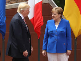 German Chancellor Angela Merkel and her political rival united against Trump  - CBS News