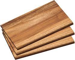 набор разделочных досок kesper цвет коричневый 3 шт