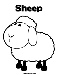 Small Picture sheep colouring pages Google keress farm Pinterest Sheep