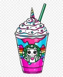 Kawaii Drink Drinks Unicorn Horn Starbucks Unicorn Frappuccino