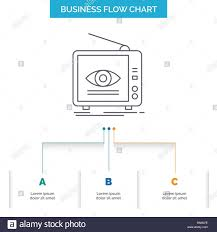 Ad Broadcast Marketing Television Tv Business Flow Chart