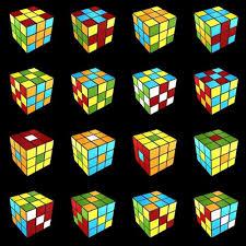 Pattern To Solve Rubik's Cube Interesting Decoration