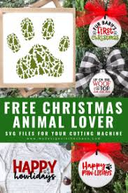 A house is not a home without a dog. Free Animal Lover Christmas Svg Files My Designs In The Chaos
