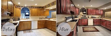 cabinets refacing before and after and the cost