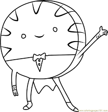 Small Picture Peppermint Candy Coloring Page Free Adventure Time Coloring