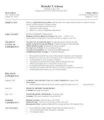 Cna Sample Resume Stunning Entry Level Cna Resume Examples Resume For Sample Sample Resume