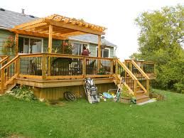 pergola over deck pictures