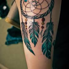 Dream Catcher Tattoo On Thigh Lovely leg tattoo dreamcatcher thigh tattoo on TattooChief 69