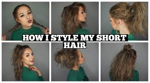 You Tube Hair Style how i style my short hair long bob youtube 1087 by wearticles.com