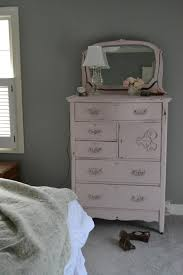 cottage fix blog blush painted dresser in annie sloan antoinette chalk paint