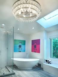 modern bathroom chandeliers bathroom with glass chandelier modern bathroom chandeliers uk modern bathroom chandeliers