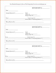 Free Printable Receipt Template Backmentor Me