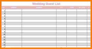 wedding list spreadsheet wedding guest spreadsheet rome fontanacountryinn com