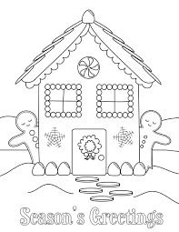 Small Picture Gingerbread House Coloring Pages Printable Coloring pages wallpaper