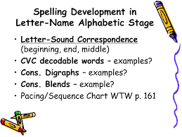 Ppt Stages Of Spelling Development Powerpoint Presentation