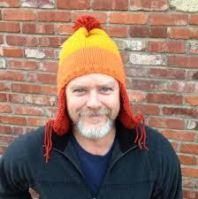 Earflap Hat Knitting Pattern Beauteous A Hat For Jayne A Cunning TriColor Earflap Hat Knitting Pattern