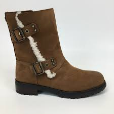 ugg womens niels winter boot 1018607 chestnut size 7 5 for