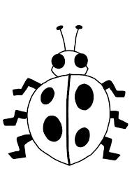 Kleurplaat Lieveheersbeestje Afb 19481 Images