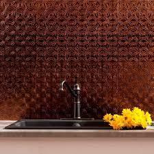 Lotus PVC Decorative Tile Backsplash ...