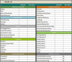 budget spreadsheet simple monthly budget spreadsheet for excel 2013 free excel