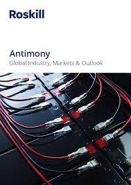 Antimony Price Chart 2017 Antimony Market Report Roskill