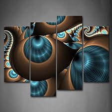 abstract blue brown like several holes wall art painting the picture print on canvas abstract pictures on blue brown wall art with amazon abstract blue brown like several holes wall art painting