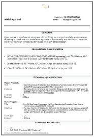 Sample Ece Resume Best Resume Template Whizzme Custom Resume B Tech