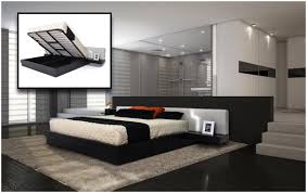 Modern Platform Bedroom Set Bedroom Full Size Modern Platform Bed Frame Roma Modern Platform