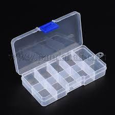 Wholesale <b>Plastic Clear</b> Beads <b>Display</b> Storage <b>Case</b> Box, Bead ...