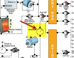 does an alternator handle all the electrial load? ask a flight Alternator Magnets Diagram at Aircraft Alternator Diagram