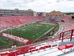 Wisconsin Badger Football Stadium Seating Chart Camp Randall Stadium Ll Seat Views Seatgeek