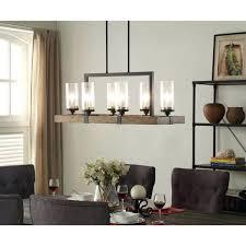 rectangular pillar candle chandelier 39